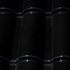 Клинкерная черепица Селектум глазурь цвет Черный