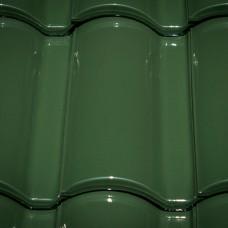 Клинкерная черепица Селектум глазурь цвет Темно-зеленый