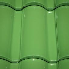 Клинкерная черепица Селектум глазурь цвет Светло-зеленый