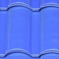Клинкерная черепица Селектум глазурь цвет Голубой