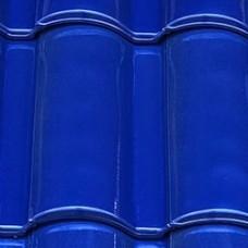 Клинкерная черепица Селектум глазурь цвет Синий