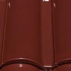 Клинкерная черепица Селектум глазурь цвет Кармен